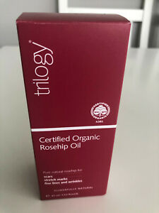 TRILOGY CERTIFIED ORGANIC ROSEHIP OIL - 45ML - FOR SCARS & STRETCH MARKS - NEW