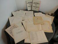 NASA/CHRYSLER/ABMA 1950s-60s JUPITER/SATURN DOCUMENTS/REPORTS+NOTES- DEPT. HEAD