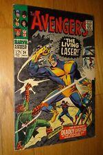 AVENGERS #34 LIVING LASER  6.0/6.5