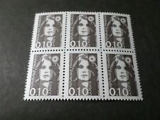 FRANCE 1990, timbre 2617 MARIANNE BLOC, QUARTINA, neuf**, VF MNH STAMPS