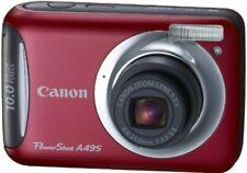 Canon Digital Camera Powershot A495 Red Psa495 (Re)