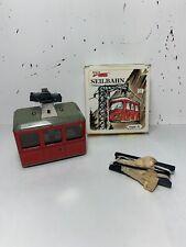 Vintage Kovap Retro Lanovka Seilbahn Wind up Tin Cable Car - New in Box