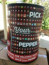 Dr Pepper Ice Barrel Cooler - Brand New