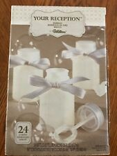 New Wilton Your Reception 24 Count .6 Ounce Wedding Bubbles