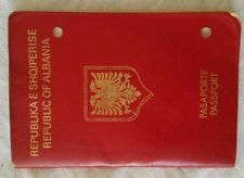 "ALBANIA  PASSPORT - ""Republic of Albania"" - 2002 - In Good Conditions"