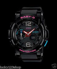 BGA-180-1B Black Baby-G Casio Lady Watches Resin Band Digital Brand-New Sport