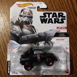 Wrecker - Star Wars Bad Batch Character Cars - Hot Wheels (2021)