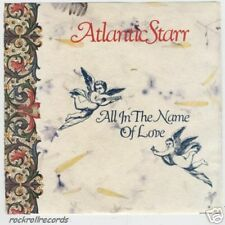 Atlantic Starr ~45 & PS~ All In The Name Of Love ~ MINT