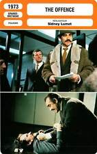 FICHE CINEMA : THE OFFENCE - Connery,Howard,Merchant,Lumet 1973