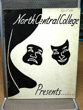 NORTH CENTRAL COLLEGE Importance of Being Earnest theater program 1957