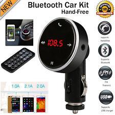 Nuevo Inalámbrico LCD MP3 REPRODUCTOR SD USB Modulador Del Transmisor FM