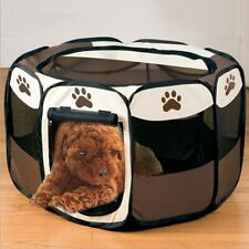 New listing Pet Cat Dog Fence Indoor Outdoor Game Guard Playpen Small Medium Animal Pet Bed