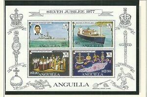 Anguilla - QEII Silver Jubilee 1952-1977 Mint NH Miniature Sheet