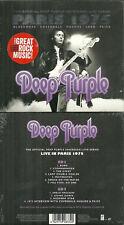 DEEP PURPLE : EN CONCERT LIVE IN PARIS 75 ( 2 CD ) / NEUF EMBALLE - NEW & SEALED