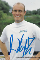 Andreas HAJEK - Deutschland, Gold Olympia 1992 Rudern, Original-Autogramm!