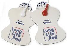 Omron Reemplazo larga vida Electrodo Almohadillas Para Electrónica nervio estimuladores decenas