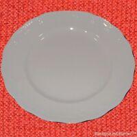 """Platter Chop Plate Baum Bros Formalities White Round 12"""" Versaille Vintage TP"""