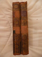 The History of Tom Jones.1782.Henry Fielding.Vols 2 and 4.W. Straham. Leather.