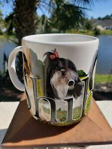 Shih Tzu Coffee Mug - Dog Owner Lover of Shih Tzu! American Ware NEW 20 oz Large