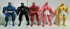 1995 Bandai Power Rangers Ninja Figures - Lot Of 5