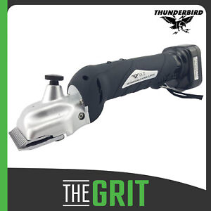 Thunderbird 12v Rechargeable Horse & Cattle Cordless Clippers Farm Animal Shears