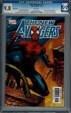 Marvel Comics New Avengers (2005 Series) # 1 Variant CGC 9.8 Spider-Man