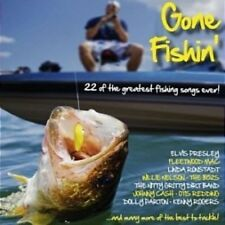 GONE FISHIN' Various: Feat. Elvis, Fleetwood Mac, Willie Nelson, The B52s CD NEW