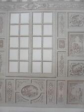 Fenetre Chambre Maison CHARTRES HENRI IV GRAVURE décoration ADAMS MEUBLE XIXéme