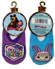Masha and The Bear 2 pair Anti-slip socks set