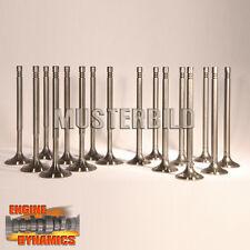 16 Ventile: 8x Einlassventil, 8x Auslassventil Opel 1,8 16V 5mm X18XE1 Z18XE