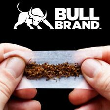 15x BULL KING SIZE SILVER ROLLING PAPERS BOOKLETS Cigarette/Smoking EXTRA THIN