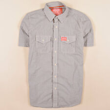 Superdry Herren Hemd Shirt Gr.L Kariert Vintage Freizeithemd Mehrfarbig 75402