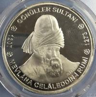 Rumi Silver Proof Turkey 2002 10 million lira