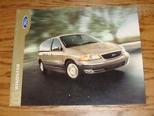 Original 2003 Ford Windstar Sales Brochure 03 LX SE SEL Limited 2nd
