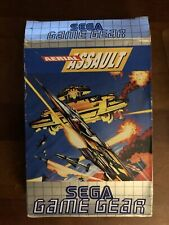 SEGA Game Gear game - Aerial Assault cartridge