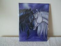 Beautiful Unicorn Wall Canvas By Ash Evans Called Soulmates, New &Sealed Fab!!