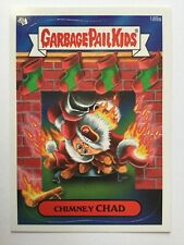 Garbage Pail Kids New Series 3 Topps Sticker 189a Chimney Chad Santa Christmas