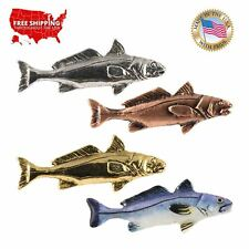 Creative Pewter Designs California Corbina Fish Lapel Pin or Magnet, S016