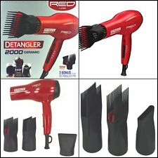 Detangler Dryer Blow Dryer With Comb Attachment Straighten while you dry hair