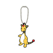 Pokemon Ampharos Rubber Gashapon Key Chain Series 6 NEW