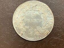5 Francs Napoléon Empereur 1806 BB Strasbourg TB + - 1 er Empire, 1804-1814
