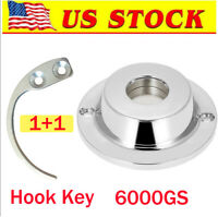 Hook Key & 6000GS Magnetic EAS Security Hard Tag Tool [US in STOCK]