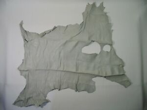 """Deer Leather - White Whole Hide 32x22"""" - Crafts Art Binding Gloves Leatherwork"""