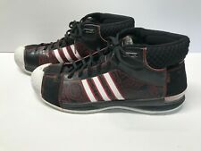 low priced eb78f 7fd8d Adidas 2008 TS Pro Model Basketball Shoes Size 13 Black Red White Tracy  McGrady