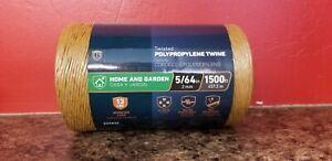Twisted Polypropylene Twine, 1500 ft, 2mm