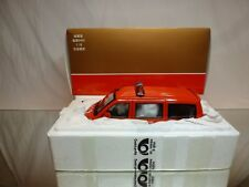 CHINA SLJ 6400 MINI VAN - FIRE - 1:18 VERY RARE - EXCELLENT IN BOX - NOT AUTOART