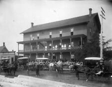 "Photo 1890 Au Sable, Michigan ""View - Winchester Hotel"""