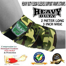 ELBOW BRACE SLEEVES SUPPORT WRAPS STRAPS BODYBUILDING/Weight lifting STRAPS