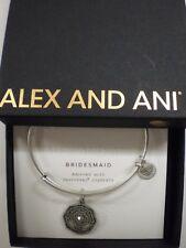 Alex and Ani Bridesmaid Bangle Bracelet Rafaelian Silver