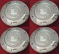 "NEW 4pc SET 2007-2014 CADILLAC ESCALADE 22"" WHEELS CENTER HUB CAPS 9596649"